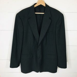 BROOKS BROTHERS 346 Pinstripe Blazer jacket 44R